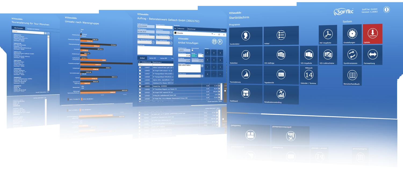 VIS-mobile Außendienst-Steuerung Reisekostenabrechnung Tourenplanung Software Außendienst Controlling